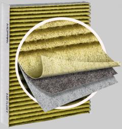 Deeltjes-luchtfilter interieur voor Fiat Professional Ducato