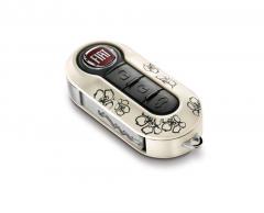 Set key covers Fiori voor Fiat 500