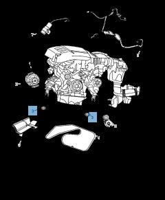 Vaste riemspanner voor Jeep