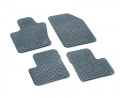Vloermatten rubber met 500-logo met knopen passagierszijde tot chassisnummer Zfa3340000P753302