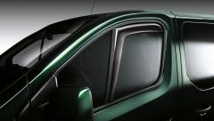 Luchtspoilers voor voorste zijruiten voor Fiat Professional Talento