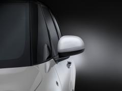 Buitenspiegelkappen wit met Technics-effect