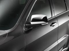 Verchroomde kappen voor spiegels voor Jeep Grand Cherokee