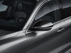 Spiegelkappen in glanzend miron voor Alfa Romeo Stelvio
