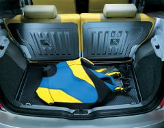 Halfharde bescherming voor kofferbak voor Fiat Panda