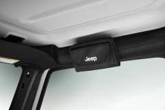 Zonnebrilhouder met Jeep-logo