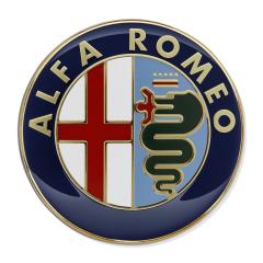 Sierelement Alfa Romeo motorkap voor Alfa Romeo