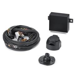 Elektrische bedrading voor trekhaak, 7-/13-polig voor Fiat en Fiat Professional Qubo