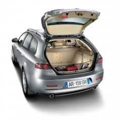 Scheidingsnet voor vervoer van dieren voor Alfa Romeo 159
