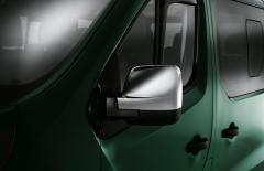 Verchroomde kappen voor spiegels bus voor Fiat Professional Talento