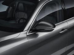 Spiegelkappen in mat miron voor Alfa Romeo Stelvio
