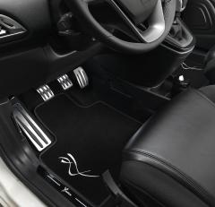 Timergestuurde verlichtingsset voor onder het dashboard voor Lancia Ypsilon