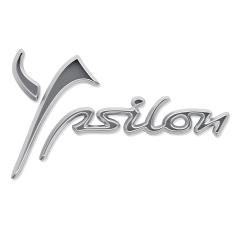 Code model Ypsilon achterzijde voor Lancia Ypsilon