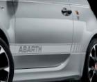 ABARTH-SPORTSTRIPING - ROOD