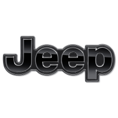Sierelement Jeep achterzijde