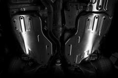 Bodemplaatbescherming voor oliepan cilinderblok
