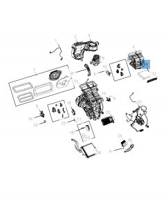 Luchtfilter interieur voor Jeep Compass