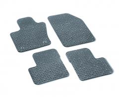 Vloermatten rubber met 500-logo zonder knopen passagierszijde vanaf chassisnummer Zfa3340000P753303