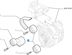 Vaste riemspanner voor Fiat Professional Scudo