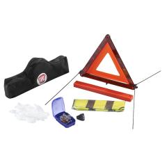 Veiligheidsset met gevarendriehoek en reflecterend veiligheidshes voor Fiat en Fiat Professional