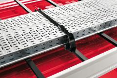 Blokkeringen om bagage vast te houden voor bagagedrager op dak voor Fiat en Fiat Professional