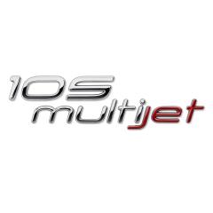 Code 105 Multijet achterzijde voor Fiat en Fiat Professional