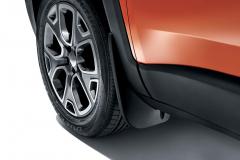 Geprofileerde voorspatlappen voor Jeep Renegade