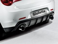 Rear bumper sport spoiler for Alfa Romeo Mito and Giulietta