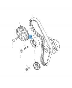 Distributiekit (riem, vaste en verstelbare riemspanner) - 3 stuks voor Jeep Compass