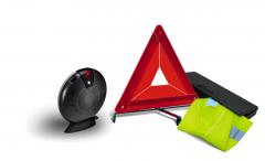 Veiligheidsset met gevarendriehoek en reflecterend veiligheidshes voor Fiat Professional Talento