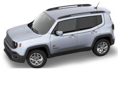 Stickerset voor carrosserie met VS-vlag voor Jeep Renegade