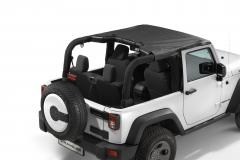 Sunbonnet voor hard top en soft top 2-deurs versie